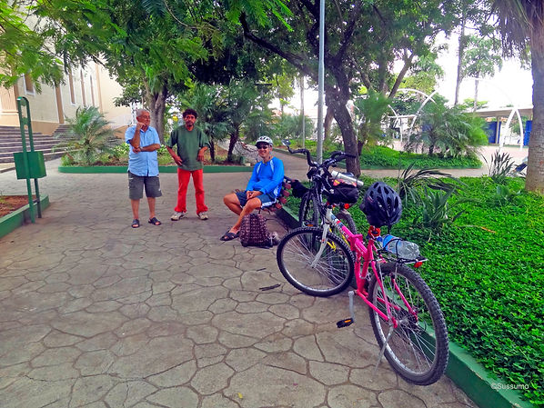 Caminho do Sol, Caminho de Santiago, passeio de bike, Elias Fausto