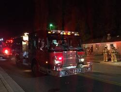 Mutual Aid Apartment fire in FM