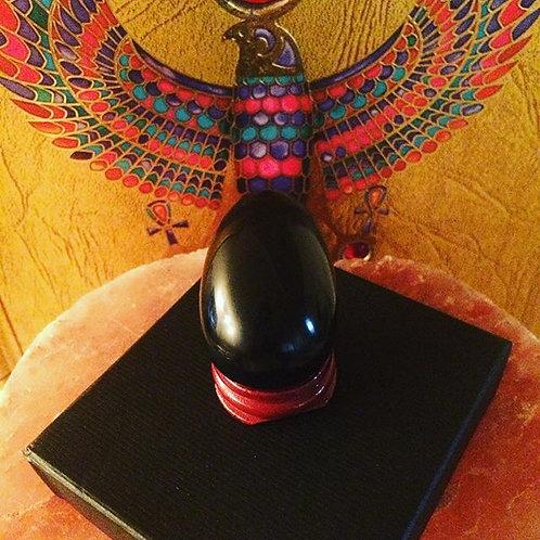 Med Obsidian Yoni Egg