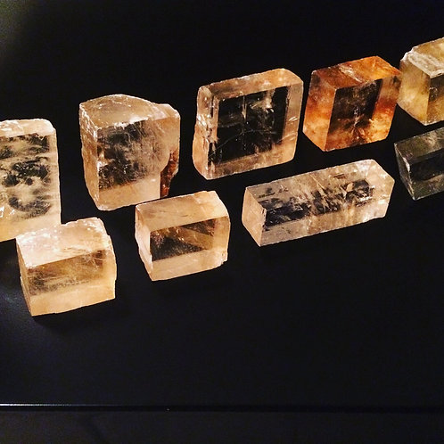 Calcite squares