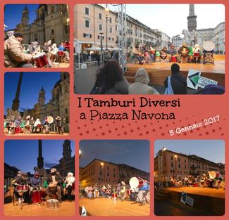 Tamburi Diversi a Piazza Navona
