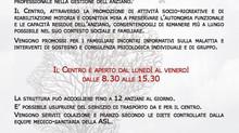 """Centro Diurno Alzheimer """"Mariù"""""""
