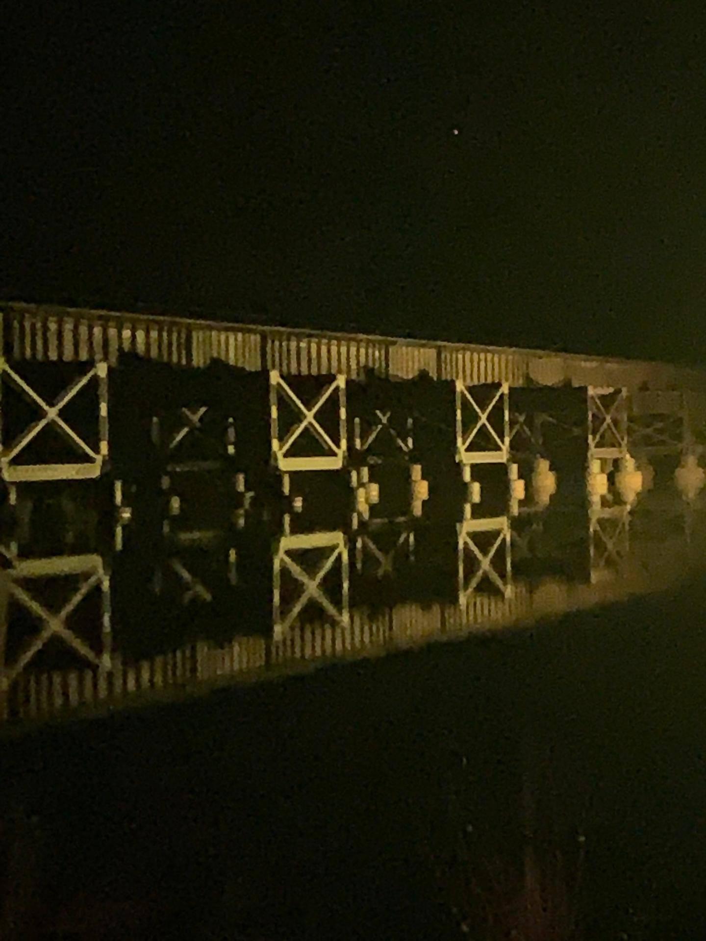 Trestle at Night