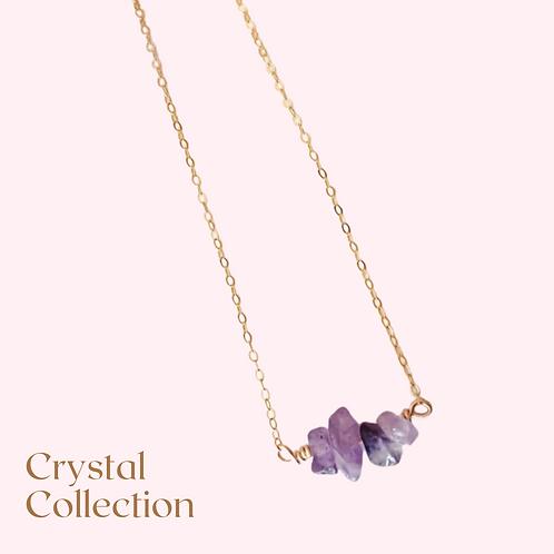 Amethyst Multi Stone Necklace