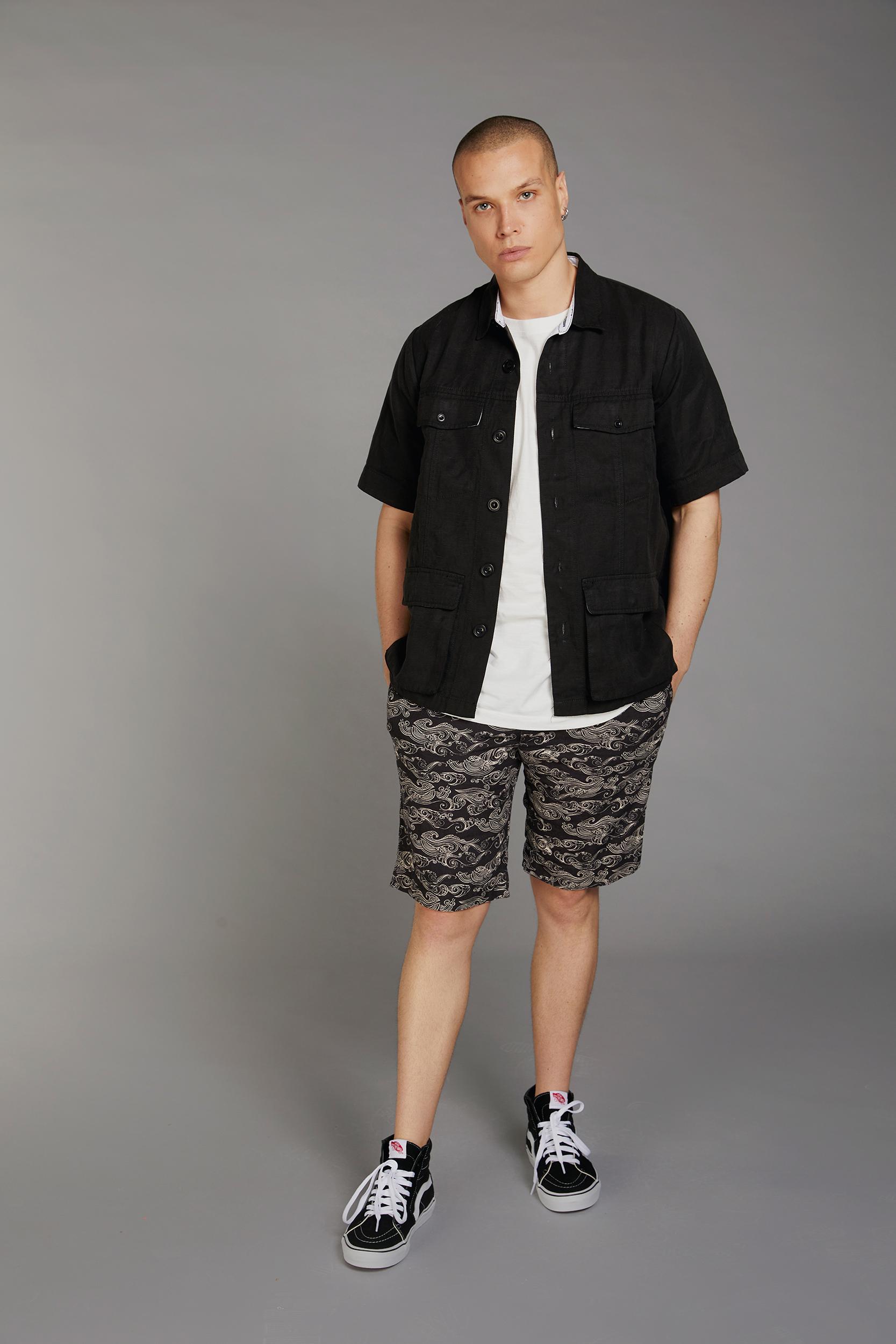 TEMPLE shirt ink - BOBBY shorts uluwatu