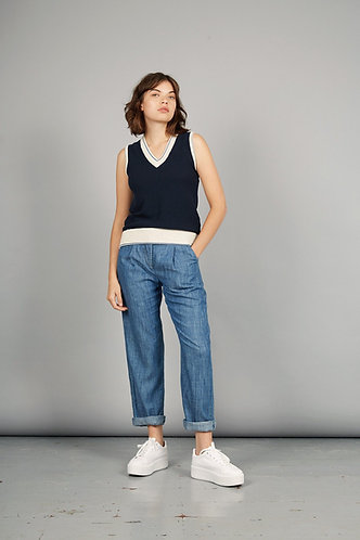 LILA Tencel Linen Trousers