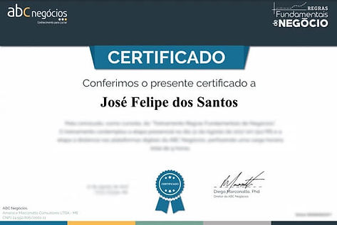 curso com certificado