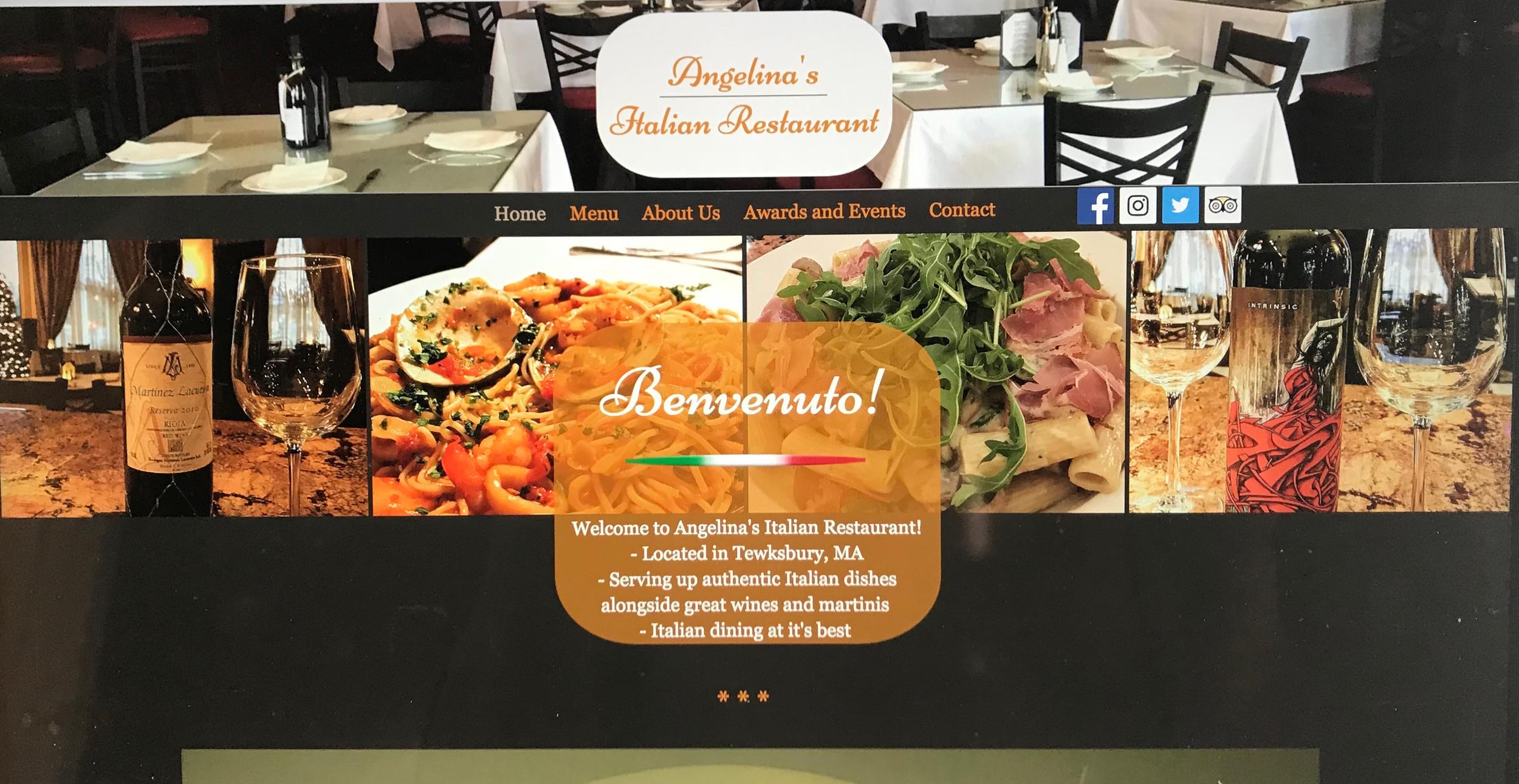 Angelina S Italian Restaurant Tewksbury Italian Food