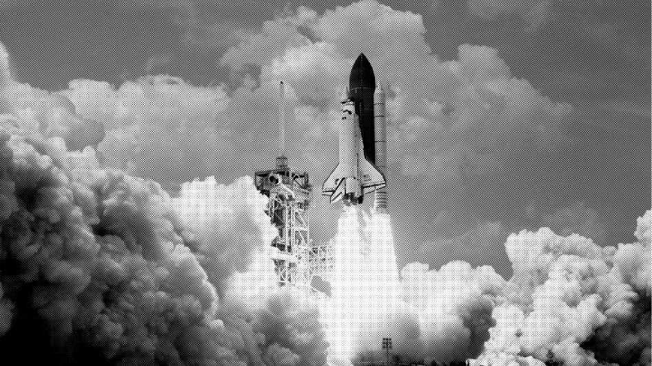 foguete, negócios que crescem rápidp