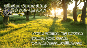 Counselling Services in Sydney Nova Scotia