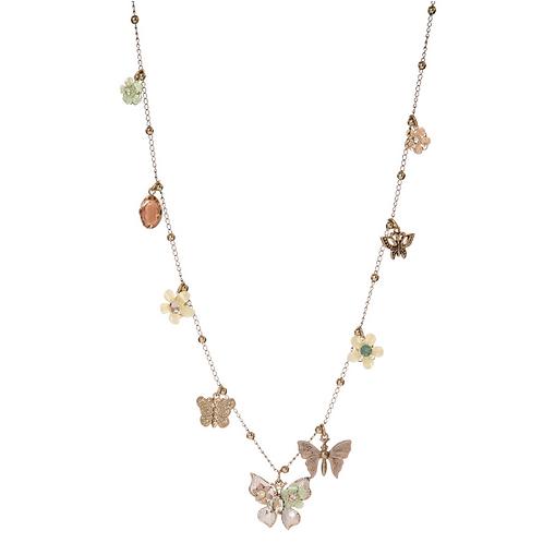 Collana Flowers&Butterflies