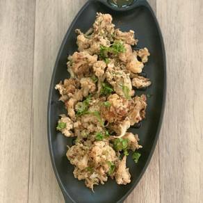 Roasted Cauliflower salad- Middle Eastern twist