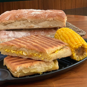 Cottage Cheese Grilled Italian Ciabatta