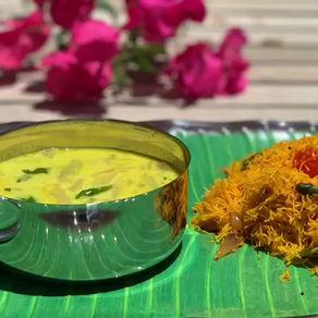 idiyyapam & dal coconut curry