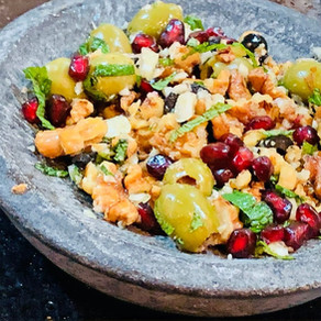 PERSIAN STYLE OLIVES &WALNUTS