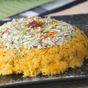 TARI -Sweet Saffron Rice