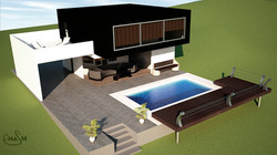 modern country house