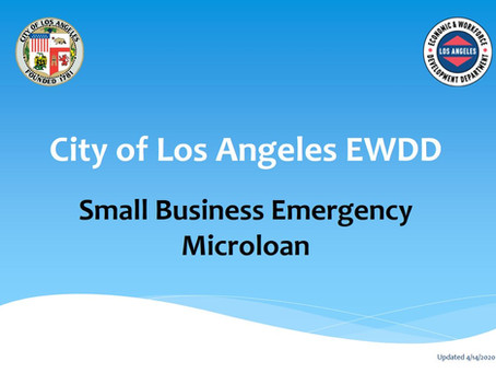 Small Business Emergency Microloan Program