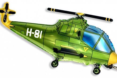 """Фольгированная фигура """"Вертолет"""""""