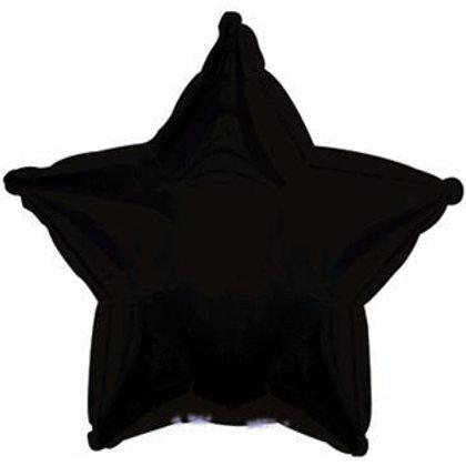 Шары-звезды черные