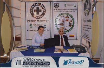Participación Técnica y Empresarial en el VIII Congreso Internacional de Riesgos Laborales del Suroc