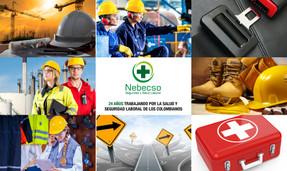 Nebecso cumple 24 años en el mercado de la seguridad y la salud en el trabajo.