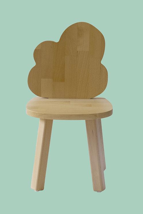 Mini chaise nuage bois hêtre naturel