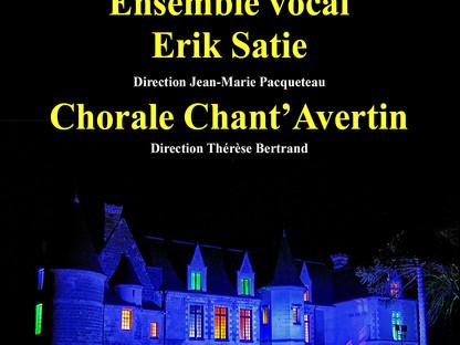 Concert Erik Satie et Chant'Avertin