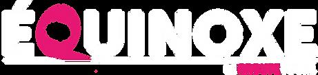 Logo + baseline Equinoxe 2019 pour fond