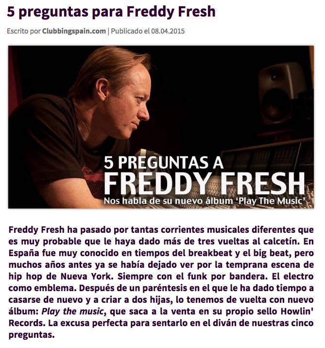 Freddy Fresh