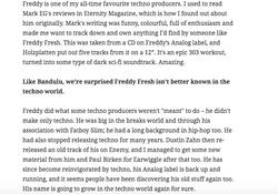 Freddy Fresh Review