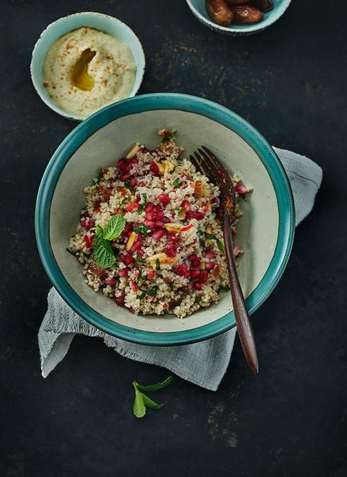 Couscous-Granatapfel -Salat