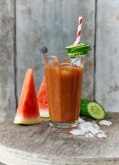 Melonen-Gurken-Smoothie