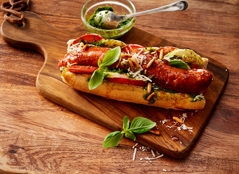 Italienisches HotDog