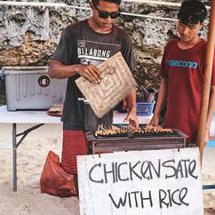 Bali Chicken Sate