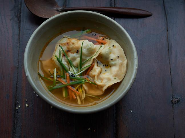 YumYum Mandus mit Kimchi