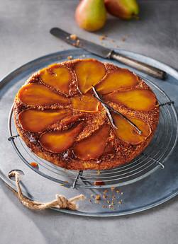 Birnen-Karamellkuchen