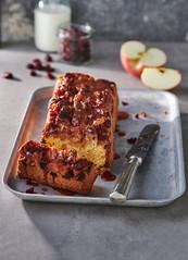Apfel-Cranberrie-Kuchen