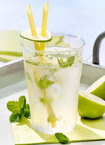 Limette-Minze-Limonade