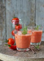 Pikanter Tomaten-Smoothie