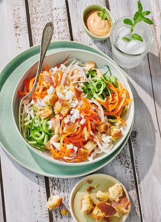 Zoodles Salat