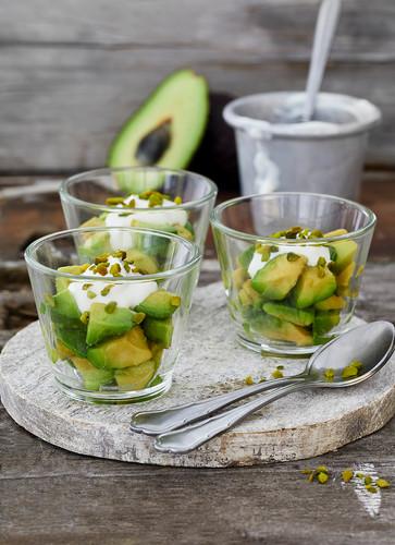 Limetten-Avocado-Joghurt