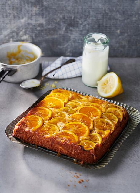 Zitrusfruchtkuchen
