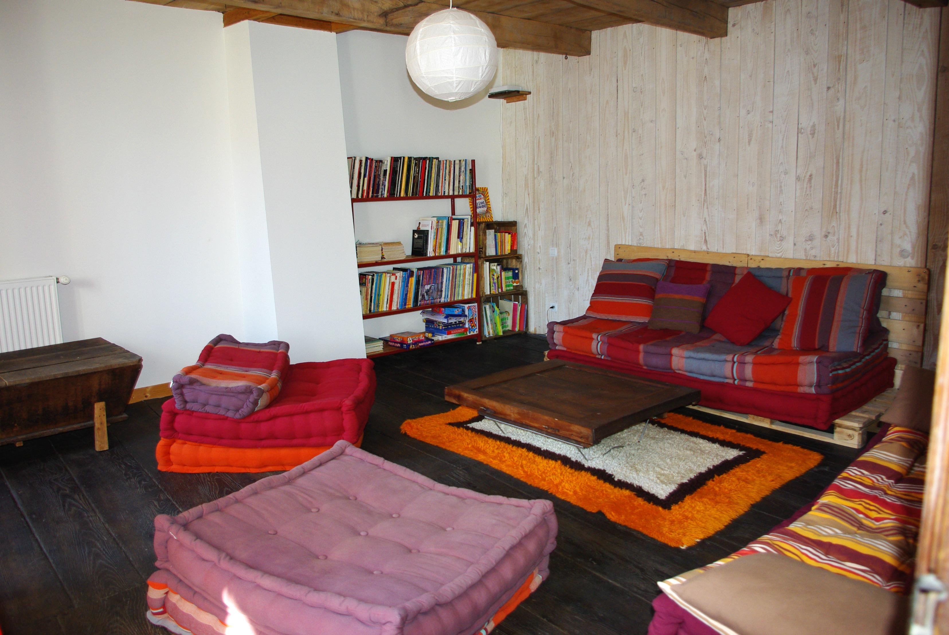 Ancien espace détente & lecture.