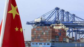 Cina: in calo le transazioni verso gli Usa