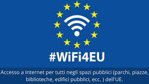 Wifi: L'europa regalerà il servizio a 224 comuni italiani