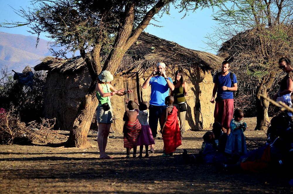 Visitar un poblado Masái