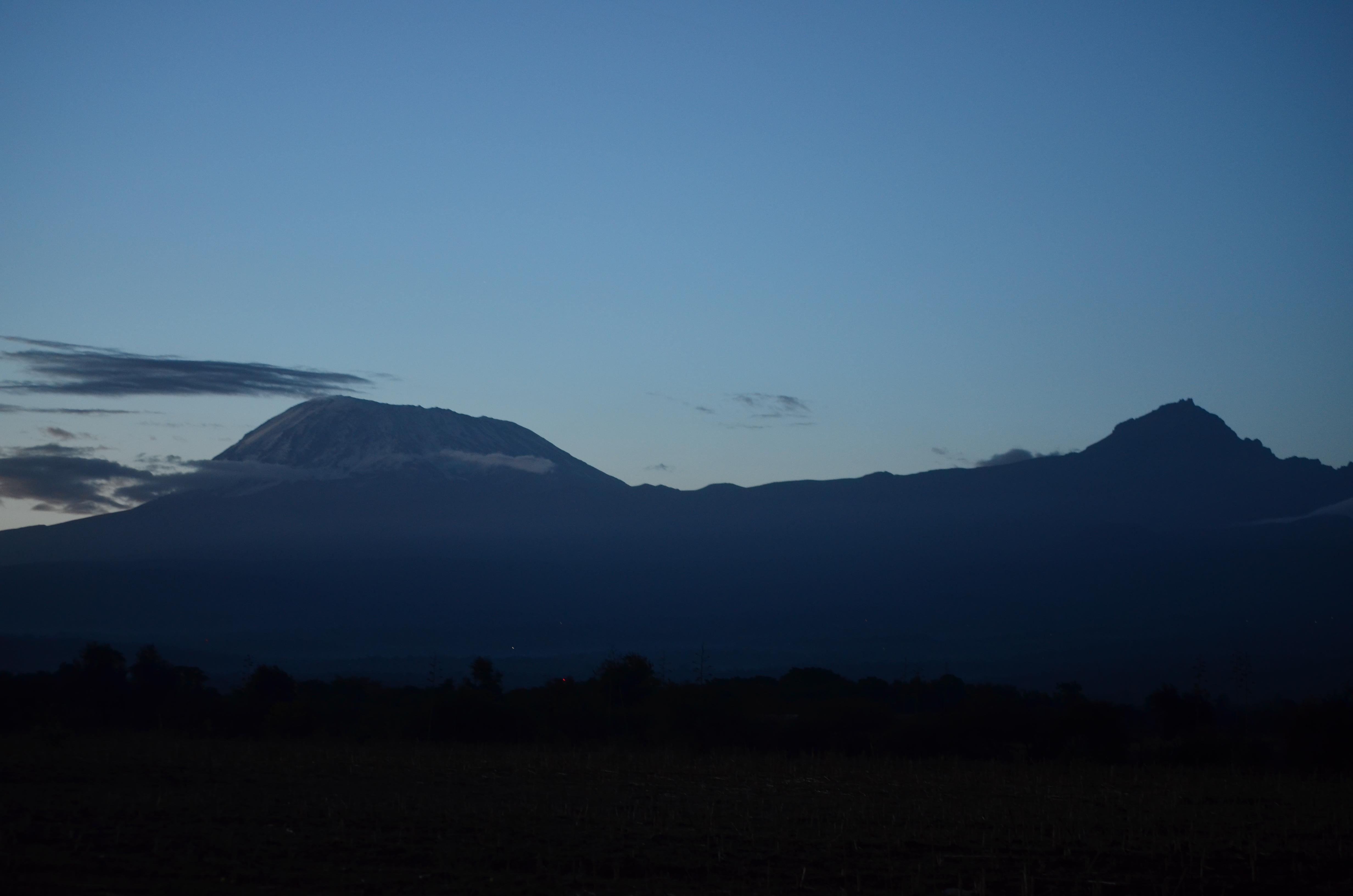 Kilimanjaro safari a pie. trekking