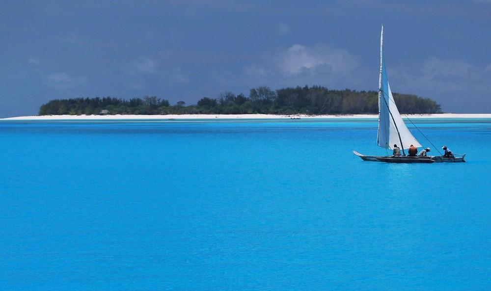 Isla de Mnemba en Zanzibar