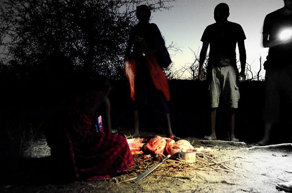 Sacrificio Maasai